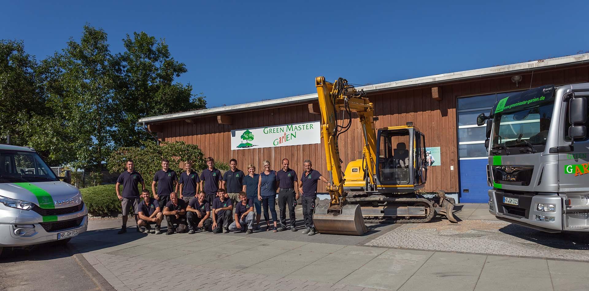Das Team von Greenmaster Garten